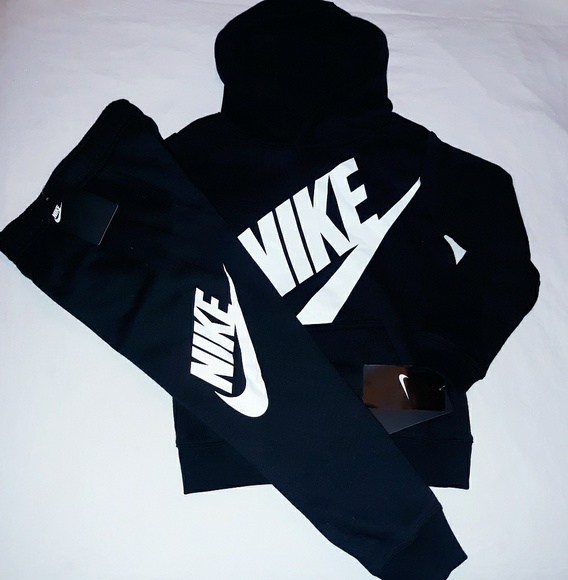 Nike Other - Nike Boys Youth 2pc Hooded Jogger Set